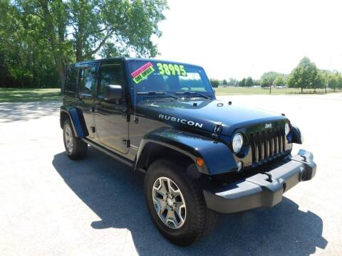 2018 Jeep Wrangler JK Unlimited for sale at Lot 31 Auto Sales in Kenosha WI