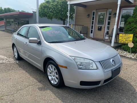 2009 Mercury Milan for sale at G & G Auto Sales in Steubenville OH