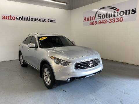 2010 Infiniti FX35 for sale at Auto Solutions in Warr Acres OK