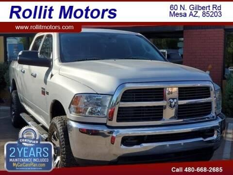 2012 RAM Ram Pickup 2500 for sale at Rollit Motors in Mesa AZ