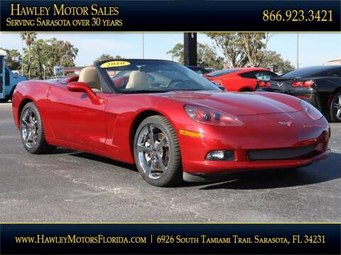 2010 Chevrolet Corvette for sale at Hawley Motor Sales in Sarasota FL