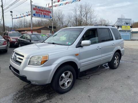 2006 Honda Pilot for sale at INTERNATIONAL AUTO SALES LLC in Latrobe PA
