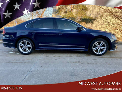 2015 Volkswagen Passat for sale at Midwest Autopark in Kansas City MO
