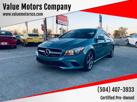 2014 Mercedes-Benz CLA for sale at Value Motors Company in Marrero LA