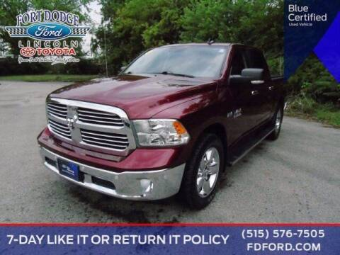 2016 RAM Ram Pickup 1500 for sale at Fort Dodge Ford Lincoln Toyota in Fort Dodge IA