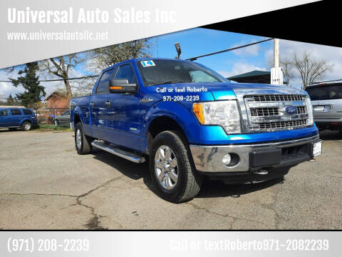 2014 Ford F-150 for sale at Universal Auto Sales Inc in Salem OR