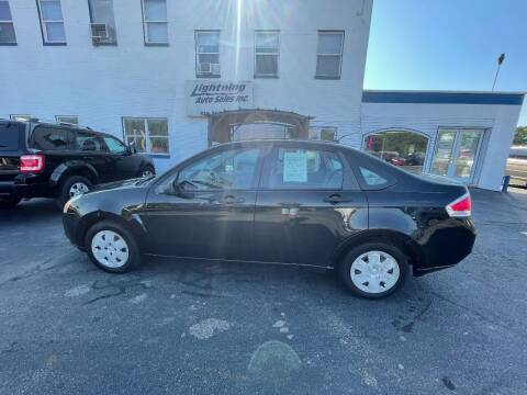 2008 Ford Focus for sale at Lightning Auto Sales in Springfield IL