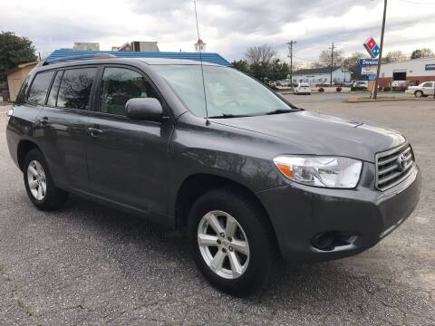 2008 Toyota Highlander for sale at Cherry Motors in Greenville SC