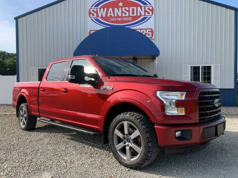 2016 Ford F-150 for sale at Swanson's Cars and Trucks in Warsaw IN