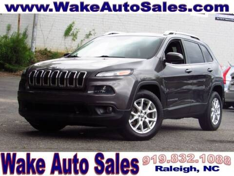 2014 Jeep Cherokee for sale at Wake Auto Sales Inc in Raleigh NC