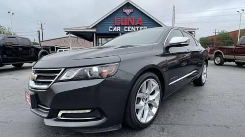 2015 Chevrolet Impala for sale at LUNA CAR CENTER in San Antonio TX
