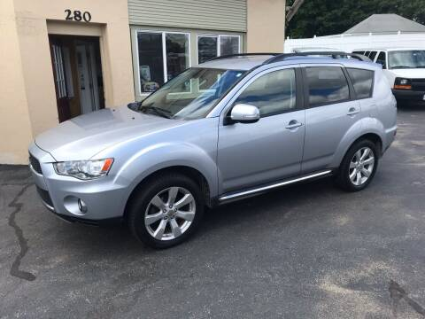 2010 Mitsubishi Outlander for sale at Autowright Motor Co. in West Boylston MA