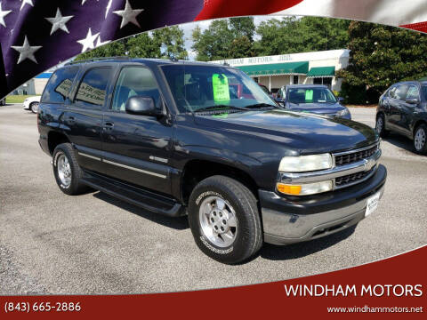 2003 Chevrolet Tahoe for sale at Windham Motors in Florence SC