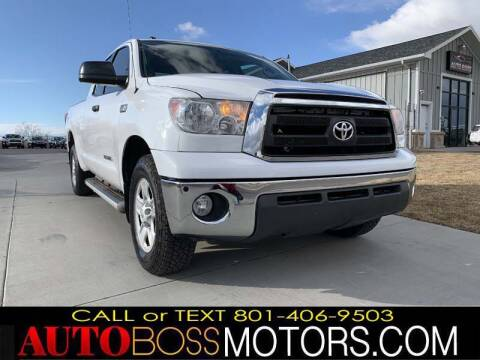 2012 Toyota Tundra for sale at Auto Boss in Woodscross UT