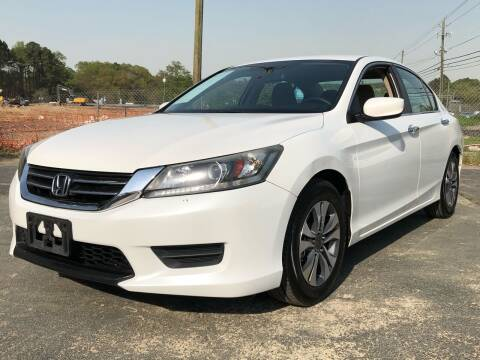 2013 Honda Accord for sale at Capital Motors in Raleigh NC