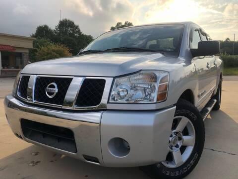 2007 Nissan Titan for sale at Gwinnett Luxury Motors in Buford GA