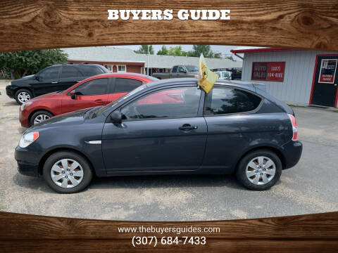 2011 Hyundai Accent for sale at Buyers Guide in Buffalo WY