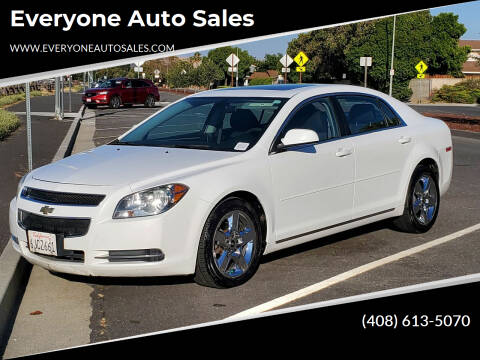 2010 Chevrolet Malibu for sale at Everyone Auto Sales in Santa Clara CA