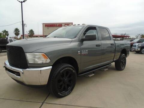 2013 RAM Ram Pickup 2500 for sale at Premier Foreign Domestic Cars in Houston TX
