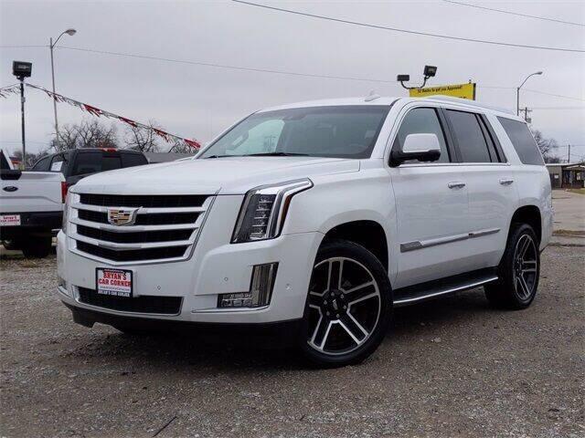 2017 Cadillac Escalade for sale at Bryans Car Corner in Chickasha OK