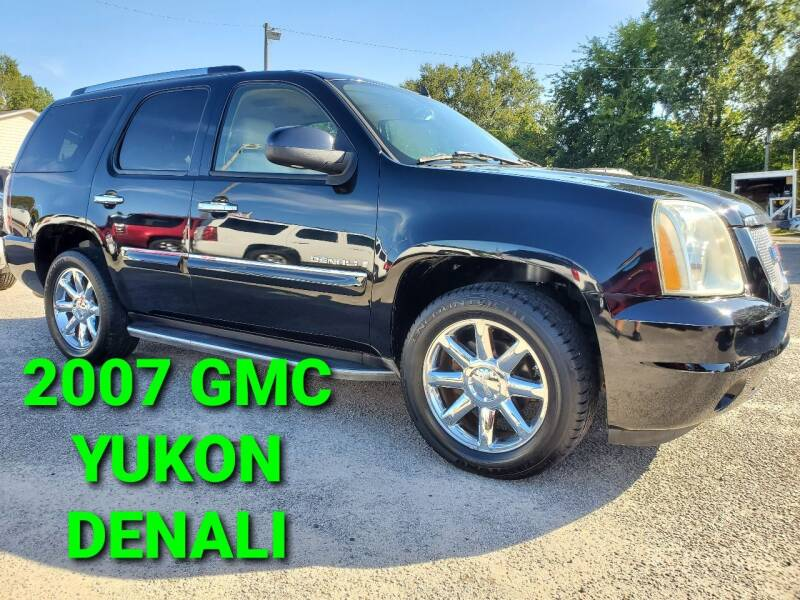2007 GMC Yukon for sale at Rodgers Enterprises in North Charleston SC