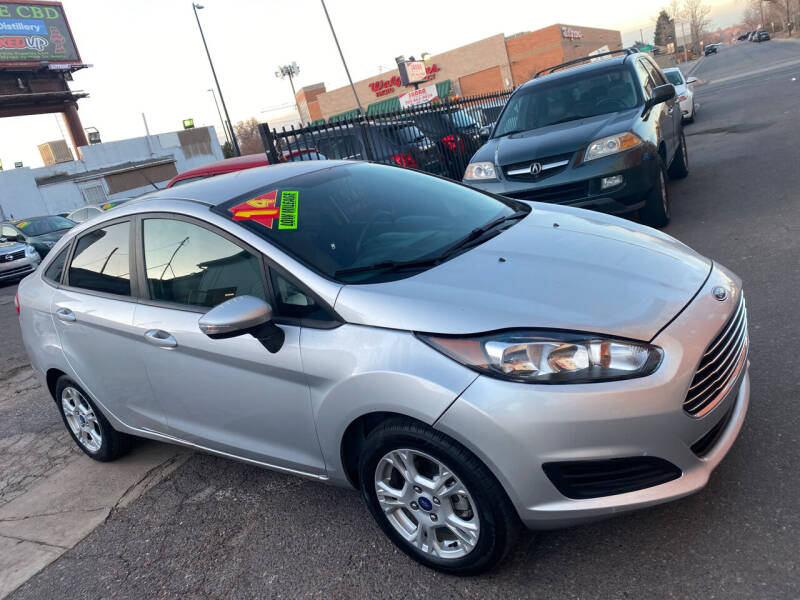 2014 Ford Fiesta for sale at Sanaa Auto Sales LLC in Denver CO