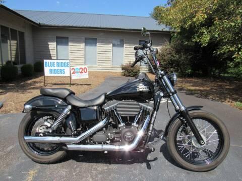 2015 Harley-Davidson Dyna Street Bob   for sale at Blue Ridge Riders in Granite Falls NC