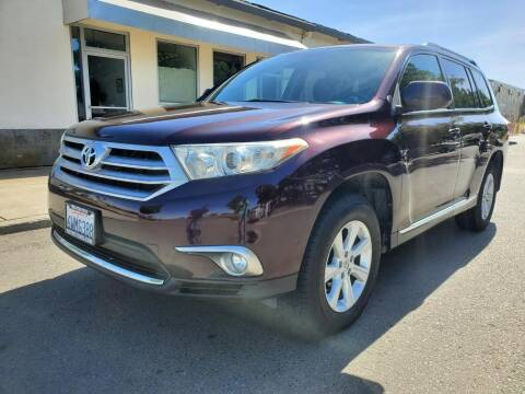 2012 Toyota Highlander for sale at 707 Motors in Fairfield CA