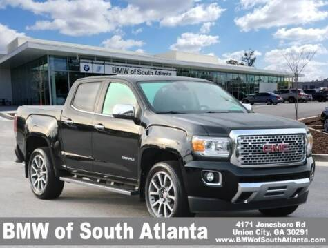 2018 GMC Canyon for sale at Carol Benner @ BMW of South Atlanta in Union City GA