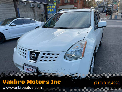 2009 Nissan Rogue for sale at Vanbro Motors Inc in Staten Island NY
