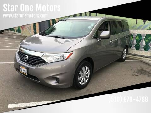 2012 Nissan Quest for sale at Star One Motors in Hayward CA