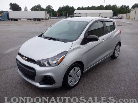2017 Chevrolet Spark for sale at London Auto Sales LLC in London KY
