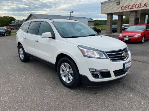 2014 Chevrolet Traverse for sale at Osceola Auto Sales and Service in Osceola WI