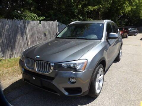 2017 BMW X3 for sale at Wayland Automotive in Wayland MA