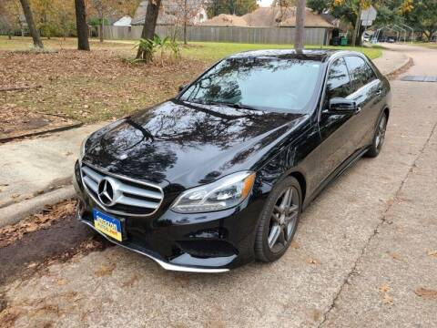 2015 Mercedes-Benz E-Class for sale at Amazon Autos in Houston TX