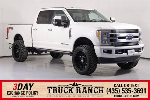 2018 Ford F-350 Super Duty for sale at Truck Ranch in Logan UT