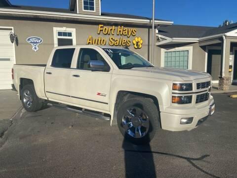 2015 Chevrolet Silverado 1500 for sale at Fort Hays Auto Sales in Hays KS