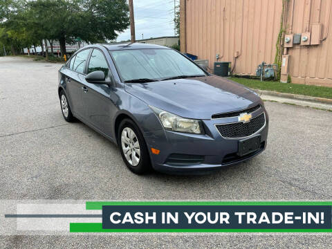 2013 Chevrolet Cruze for sale at Horizon Auto Sales in Raleigh NC