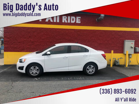 2014 Chevrolet Sonic for sale at Big Daddy's Auto in Winston-Salem NC