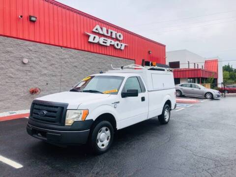 2010 Ford F-150 for sale at Auto Depot of Smyrna in Smyrna TN
