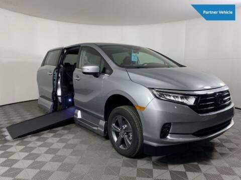 2021 Honda Odyssey for sale at AMS Vans in Tucker GA