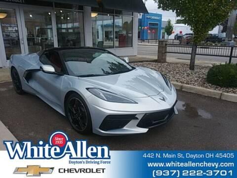 2021 Chevrolet Corvette for sale at WHITE-ALLEN CHEVROLET in Dayton OH