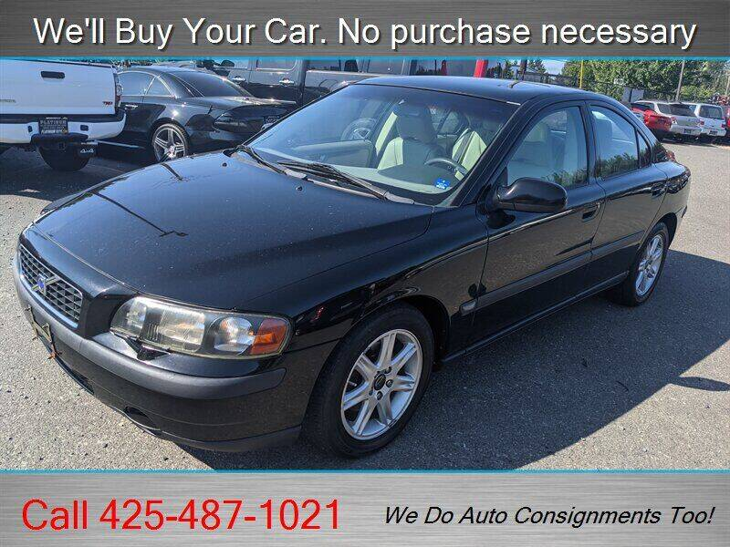 2001 Volvo S60 for sale at Platinum Autos in Woodinville WA