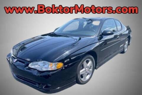 2004 Chevrolet Monte Carlo for sale at Boktor Motors in North Hollywood CA