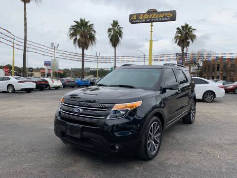 2015 Ford Explorer for sale at A MOTORS SALES AND FINANCE in San Antonio TX