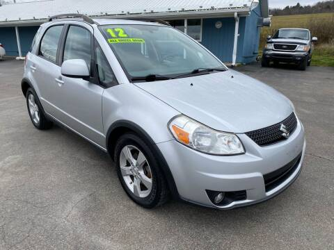 2012 Suzuki SX4 Crossover for sale at HACKETT & SONS LLC in Nelson PA