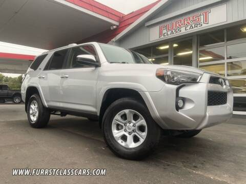 2018 Toyota 4Runner for sale at Furrst Class Cars LLC  - Independence Blvd. in Charlotte NC