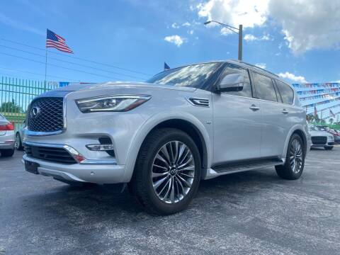 2019 Infiniti QX80 for sale at ELITE AUTO WORLD in Fort Lauderdale FL