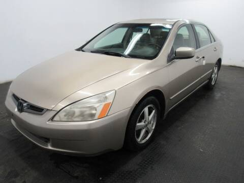 2003 Honda Accord for sale at Automotive Connection in Fairfield OH
