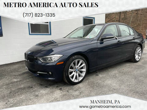 2013 BMW 3 Series for sale at METRO AMERICA AUTO SALES of Manheim in Manheim PA